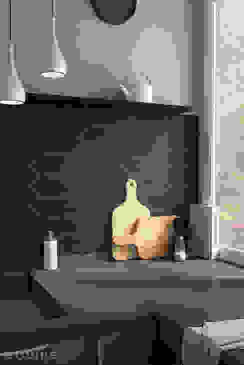 مطبخ تنفيذ Equipe Ceramicas, حداثي