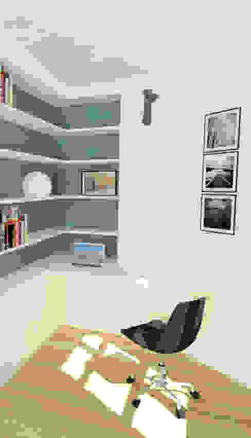 Une chambre en plus Bureau moderne par Emilie Lagrange Moderne