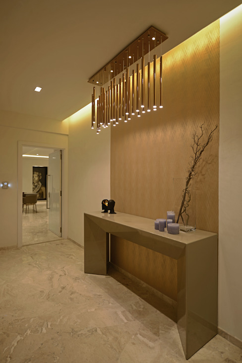 Minimalist corridor, hallway & stairs by homify Minimalist MDF