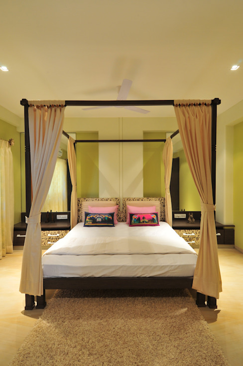 Tropical style bedroom by homify Tropical Sandstone