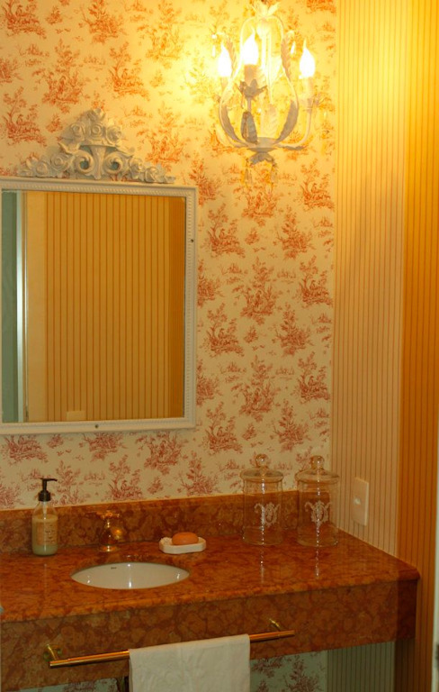 Scandinavian style bathroom by GEA Arquitetura Scandinavian