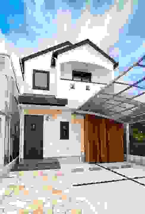 Mediterrane huizen van 遊友建築工房 Mediterraan