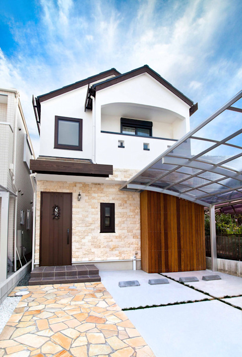 Mediterranean style house by 遊友建築工房 Mediterranean
