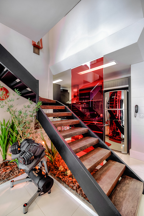 Residência Alto da XV Salas de estar modernas por VL Arquitetura e Interiores Moderno