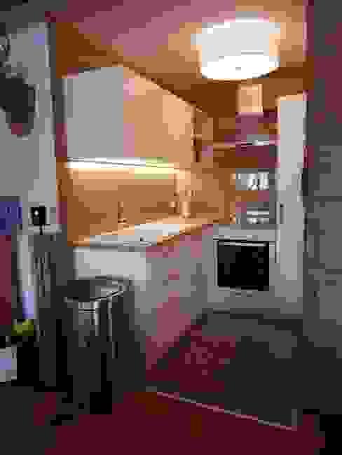 Rustic style kitchen by Officine Retica di Bosi Filippo & C. s.a.s. Rustic