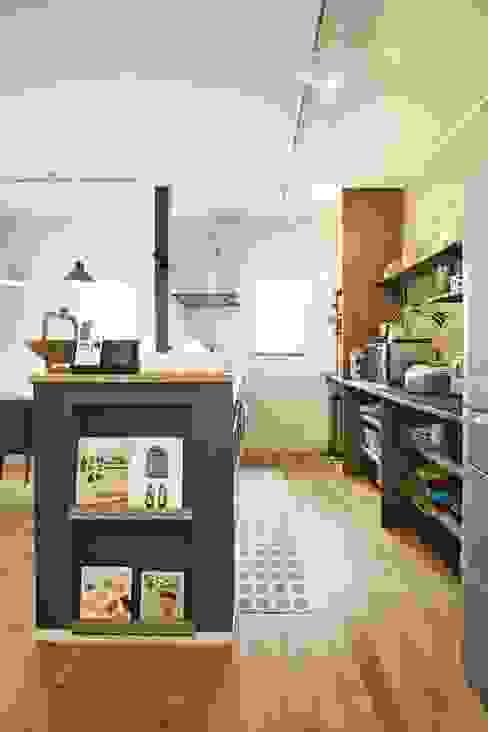 Cocinas de estilo  por ジャストの家, Moderno