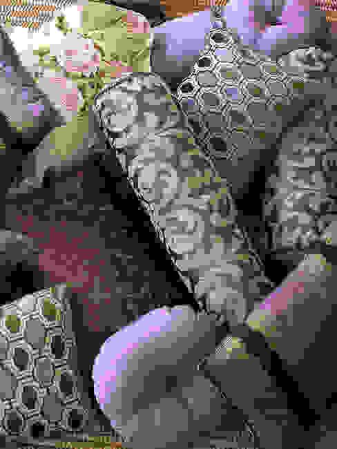 البحر الأبيض المتوسط  تنفيذ Decoración Andalusí Textil & Tapicería, بحر أبيض متوسط الغزل والنسيج Amber/Gold