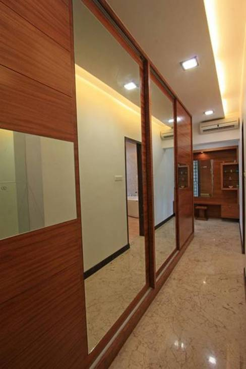 Dress Modern dressing room by Ansari Architects Modern
