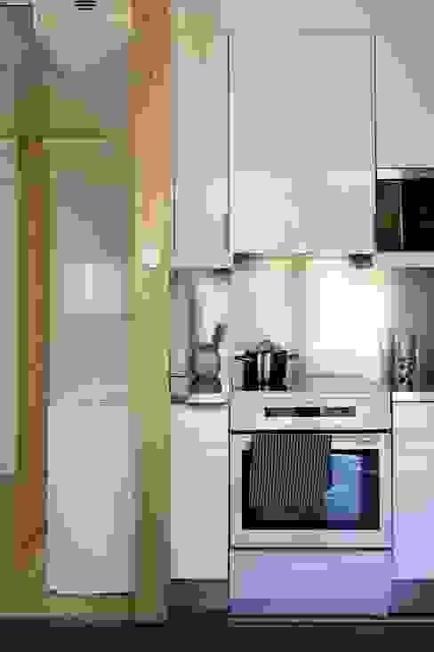 Projekty,  Kuchnia zaprojektowane przez NOEM, Nowoczesny