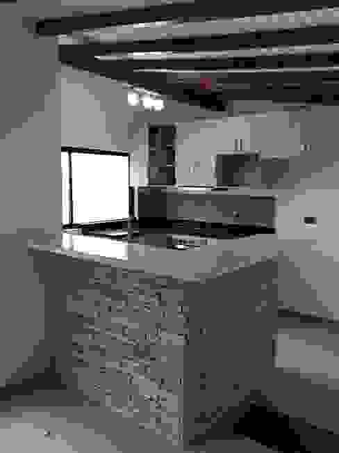 Barra de la cocina Cocinas de estilo moderno de ALSE Taller de Arquitectura y Diseño Moderno