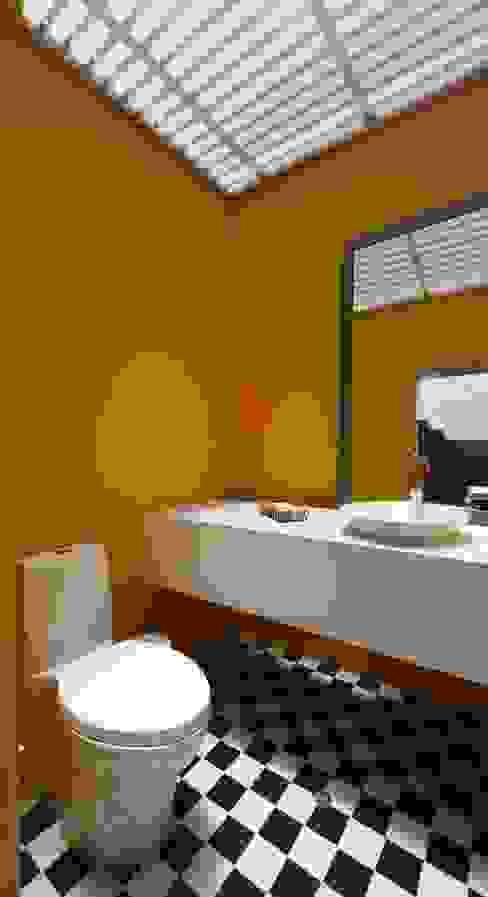 Casa P12 Baños de estilo moderno de Martin Dulanto Moderno