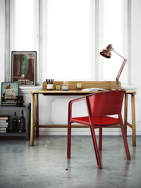 Study/office by Livarea, Modern Wood Wood effect
