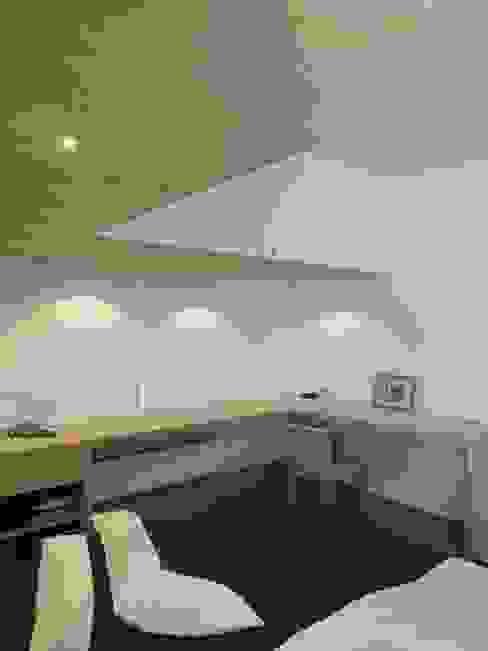 Maison moderniste à Bruxelles ARTERRA Chambre minimaliste