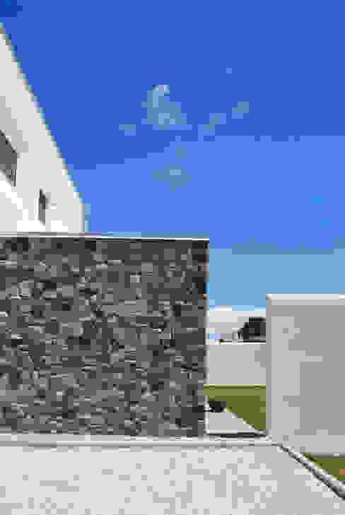 Particolare del fronte Ovest Margherita Mattiussi architetto Case moderne Pietra