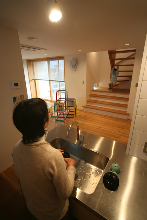 Dapur Modern Oleh 岩川アトリエ Modern