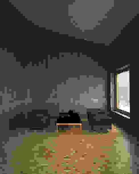Minimalist walls & floors by Belle Ville Atelier d'Architecture Minimalist Concrete