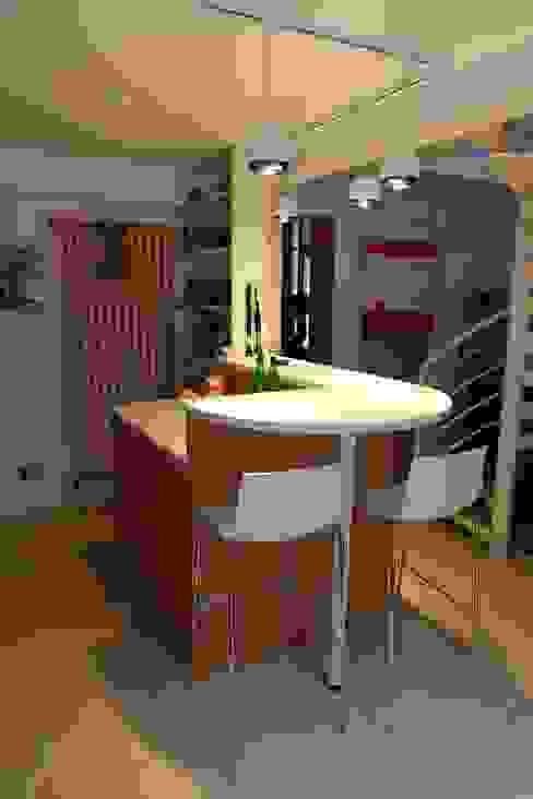 ilot bar cuisine Cuisine moderne par Martin Schiller Design Studio Moderne