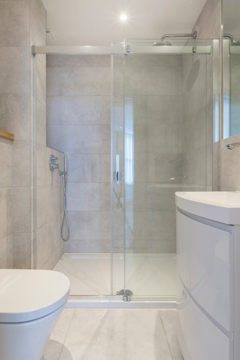 Extension and renovation, Kensington W14 Modern bathroom by TOTUS Modern