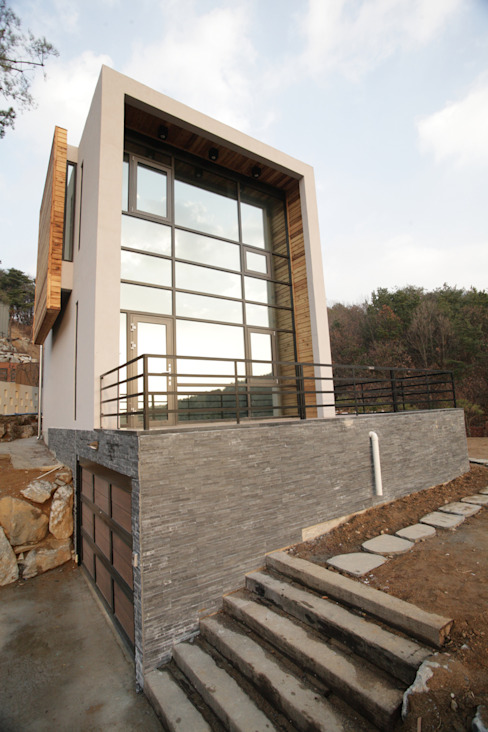 SG international Modern houses Stone Grey