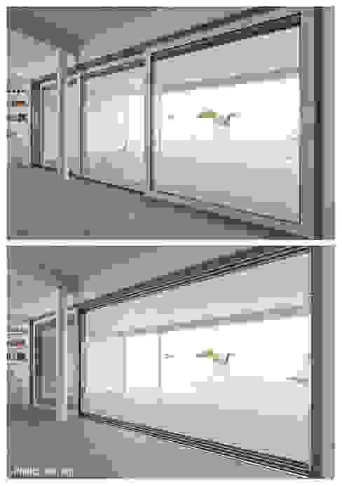 Margherita Mattiussi architetto Windows & doors Windows Aluminium/Zinc White
