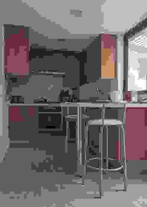 Cuisine moderne par PARQ Arquitectura Moderne