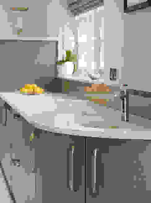 Linear | A Contemporary Kitchen Extension Davonport Modern style kitchen