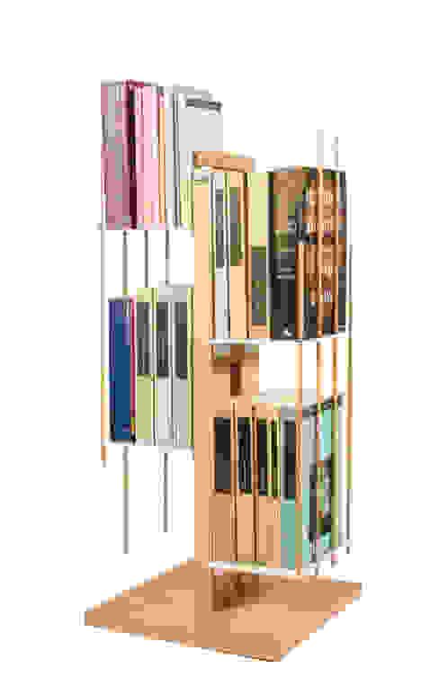 Zia Veronica | libreria a colonna | h 60 cm Le zie di Milano CasaArticoli Casalinghi Legno massello Effetto legno