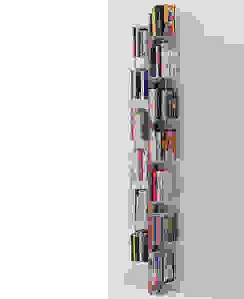 Zia Veronica | libreria a parete | h 195 cm Le zie di Milano CasaArticoli Casalinghi Legno massello Effetto legno