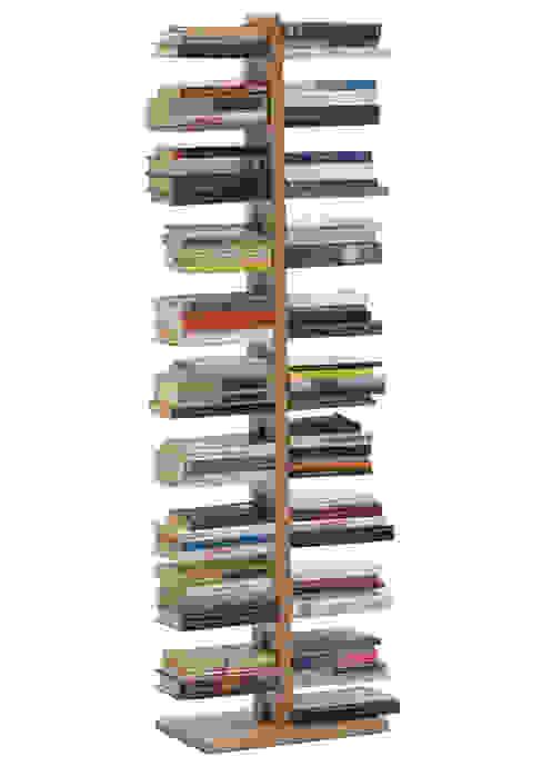 Zia Bice | libreria a colonna | h 150 cm Le zie di Milano CasaArticoli Casalinghi Legno massello Effetto legno