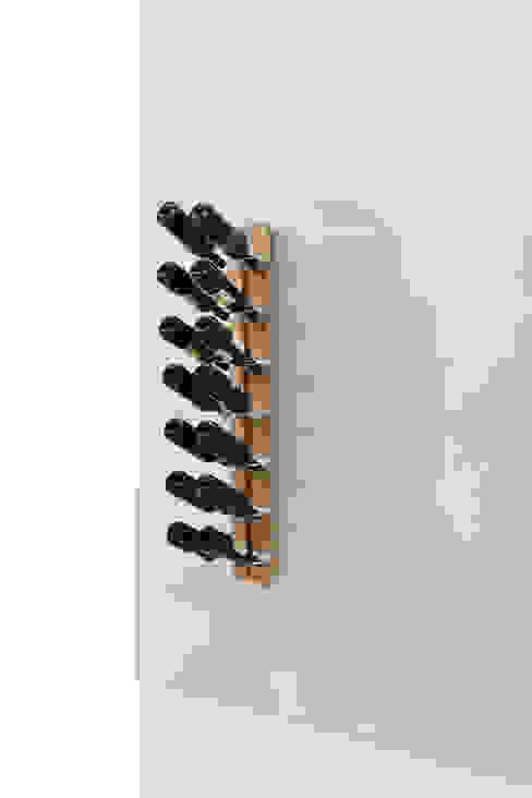 Zia Gaia | portabottiglie singolo sospeso | h 105 cm Le zie di Milano CasaArticoli Casalinghi Legno massello Effetto legno