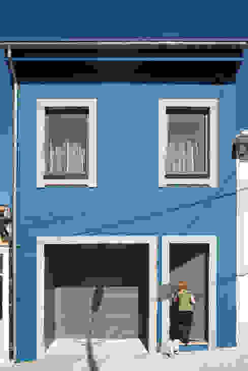 obra final - alçado frontal Ricardo Caetano de Freitas | arquitecto Casas minimalistas