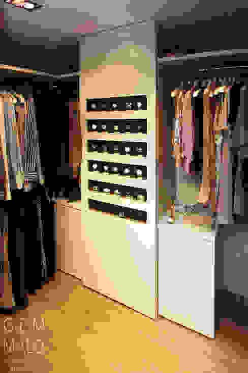 غرفة الملابس تنفيذ Gemmalo arquitectura interior,