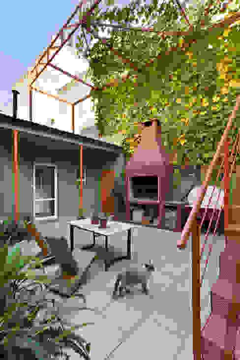 Ph con Parra: Jardines de estilo  por Pop Arq