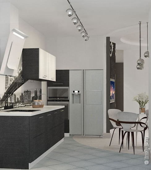 Modern kitchen by Дизайн-бюро «Линия стиля» Modern