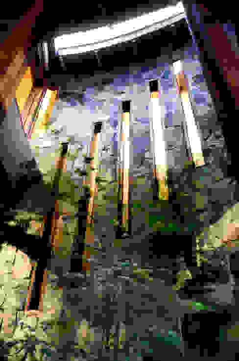 Jardín de Invierno Anexos de estilo rústico de ALIWEN arquitectura & construcción sustentable - Santiago Rústico