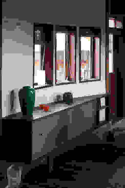 Sala de ALIWEN arquitectura & construcción sustentable - Santiago Rústico