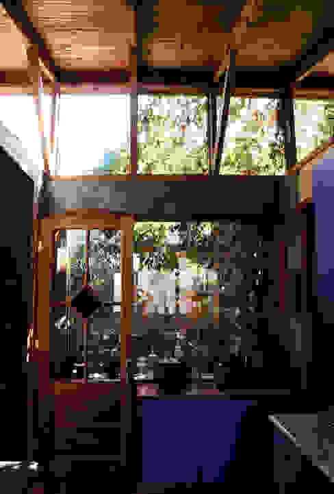 Jardín de Invierno Jardines de invierno rurales de ALIWEN arquitectura & construcción sustentable - Santiago Rural
