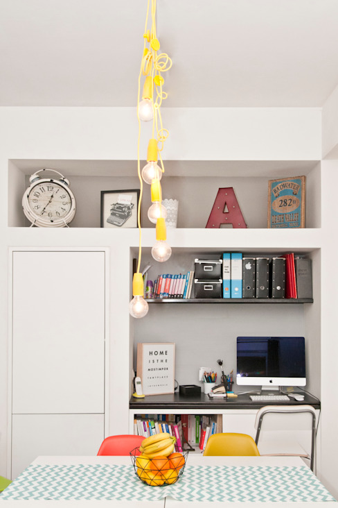 Arnia Architetture + Raumzero ceccarellimatteo Modern Living Room