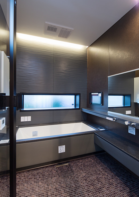Moderne Badezimmer von 一級建築士事務所 馬場建築設計事務所 Modern