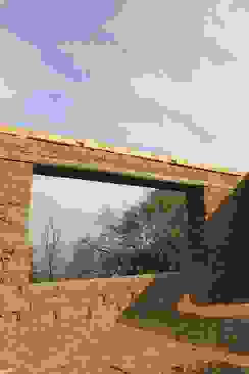 Obra en Construcción de ALIWEN arquitectura & construcción sustentable - Santiago Rural