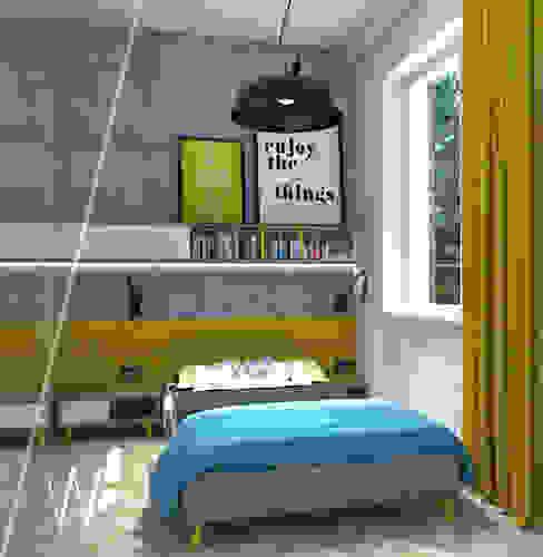 Modern style bedroom by AAW studio Modern