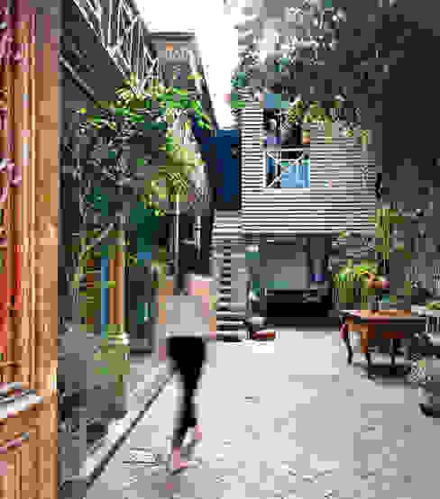 Casa Azul Modern garden by Marina Vella Arquitectura Modern