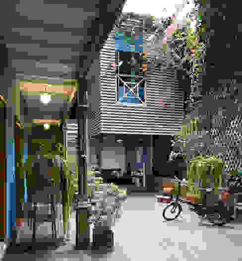 Casa Azul Jardines de estilo moderno de Marina Vella Arquitectura Moderno