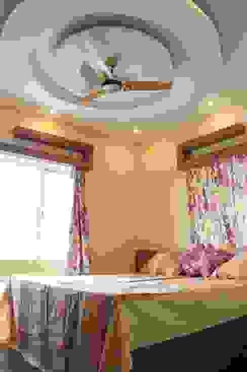 4 BHK in Bengaluru Cee Bee Design Studio Modern style bedroom