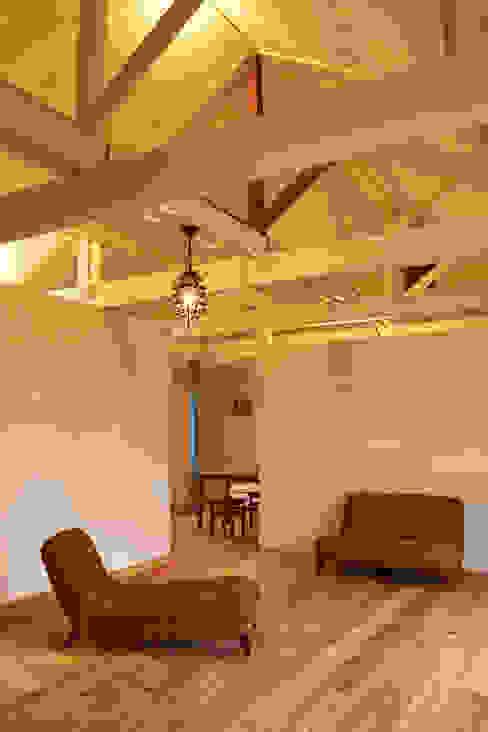 Asian style living room by tai_tai STUDIO Asian
