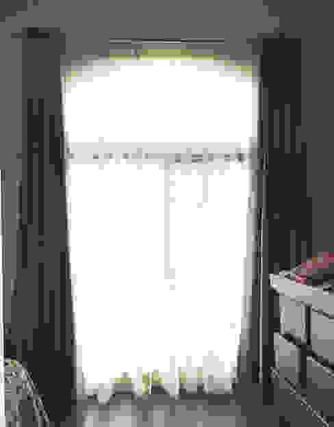 Cortinas de Maria Cortinas Moderno Textil Ámbar/Dorado