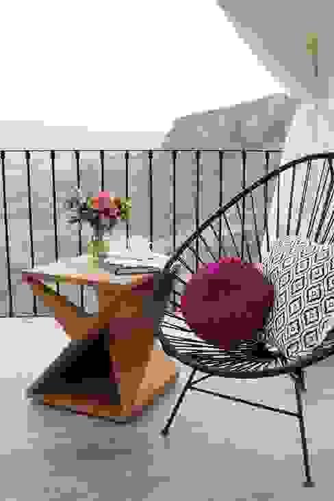 Otro Spot de terraza hacienda Lomajim Balcones y terrazas eclécticos de Talisma Ecléctico