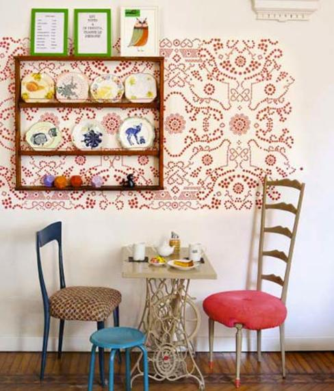 Le 18:00 Eclectic style offices & stores Multicolored