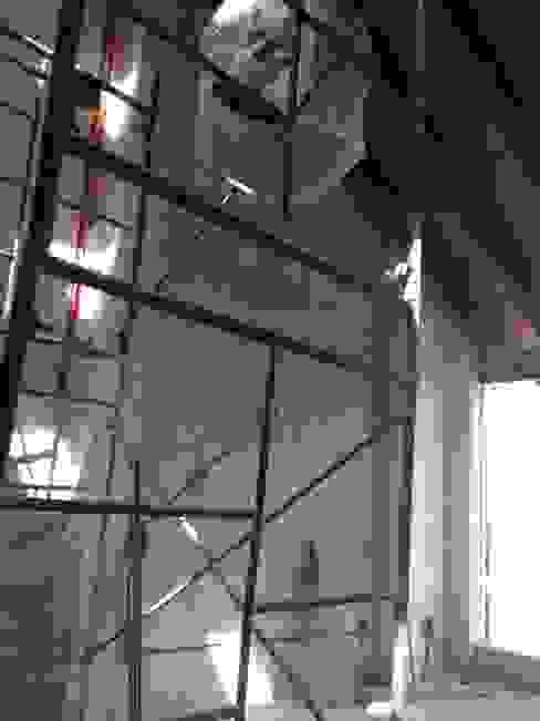Loft de Recámaras: Recámaras de estilo  por Molcajete Arquitectura Interiores Diseño, Ecléctico