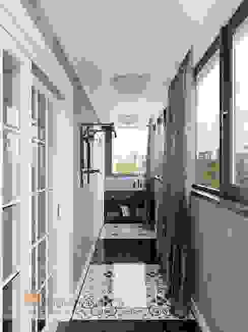Classic style balcony, porch & terrace by Студия Павла Полынова Classic